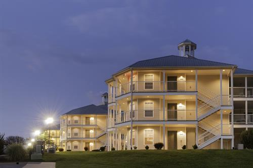 Our beautiful resort is nestled in the hills just outside Branson