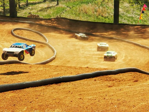 Clay Dirt RC Track