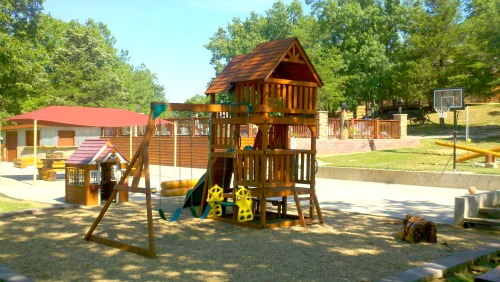 Children's Play Area With Lots of Shade