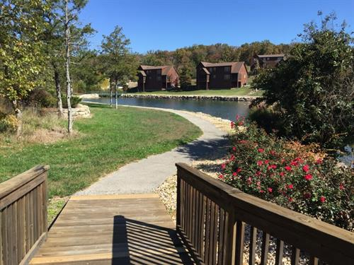 Walking Trails at Stone Bridge Resort