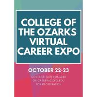 COLLEGE OF THE OZARKS VIRTUAL CAREER EXPO