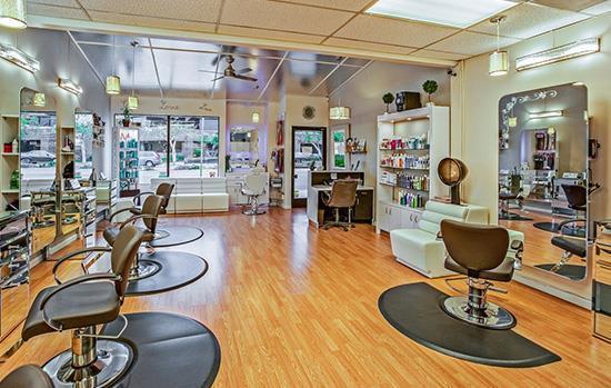 Hair Salons, Spas, Massage