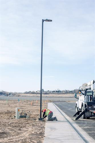 Alloway Electric installs and repairs many of the street lights around the Treasure Valley.