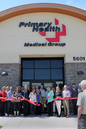 Ribbon cutting ceremony in 2016.