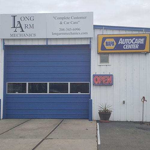 Long Arm Mechanics Shop Front