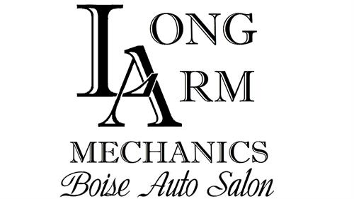 Long Arm Mechanics & Boise Auto Salon Logo