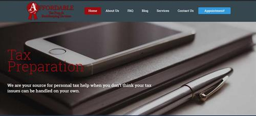 Affordable Tax Prep & Bookkeeping Services