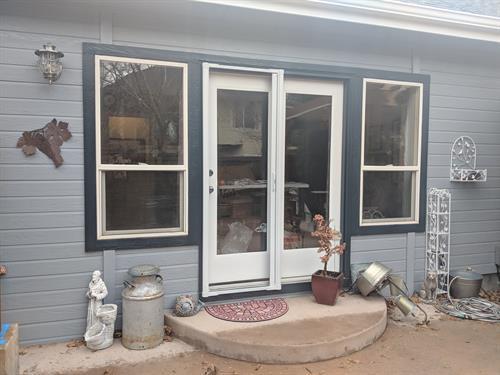 Patio door replacement - before
