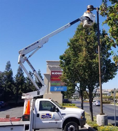 Parking Lot Lighting Installation & Repair
