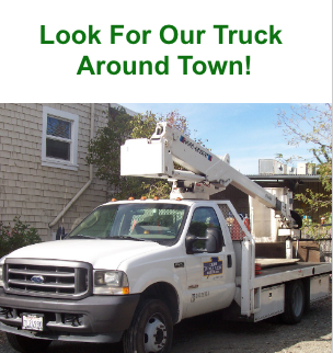 Look for our truck around town!