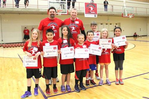 SYL Basketball Camp Awards