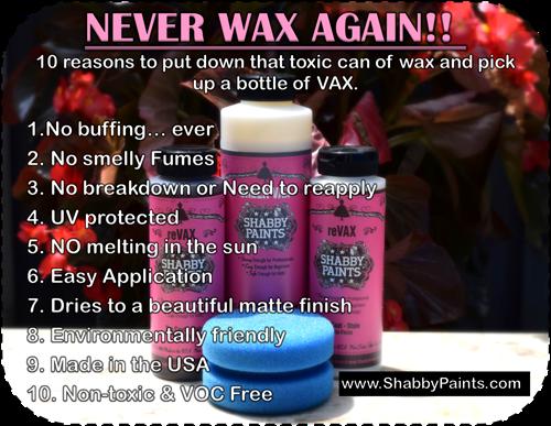 10 Reasons to Vax instead Wax!
