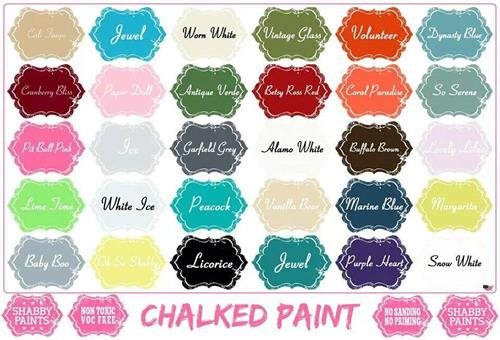 Shabby Paint - Chalk Acrylic