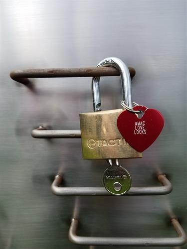 Lock with an I.D. Tag #Maclovelocks