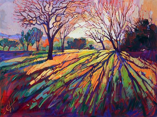 """Crystal Light"" OIL ON CANVAS by Erin Hanson"