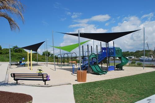 Playground at Bridgeview Park