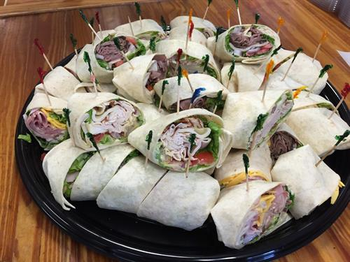 Express Catering Wrap Tray