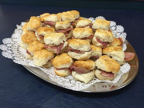Mini Ham Biscuits