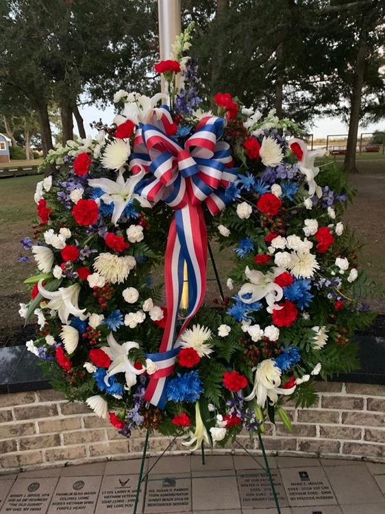 Wreath for Memorial Day