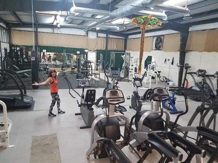 3600 sq ft prison inspired gym