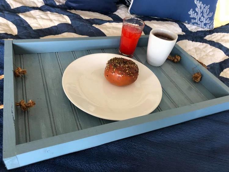 Who wouldn't want breakfast in bed?