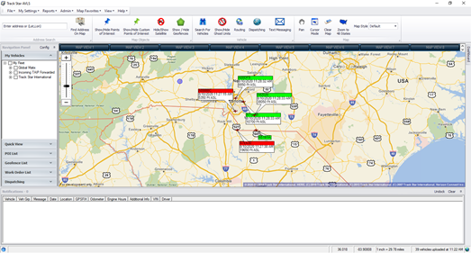 Track Star AVLS Fleet Management System