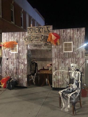 "Halloween ""Sheryl's She Shed"" :) 2019"