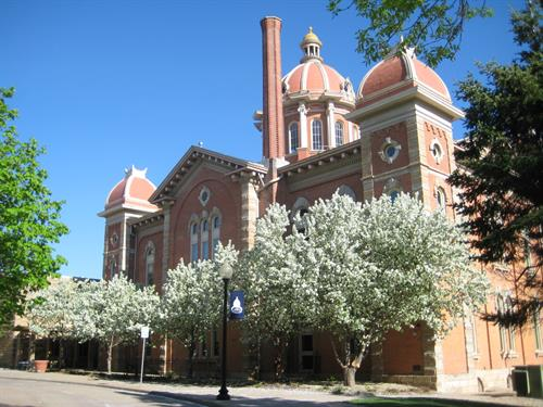 Historic City Hall in Spring