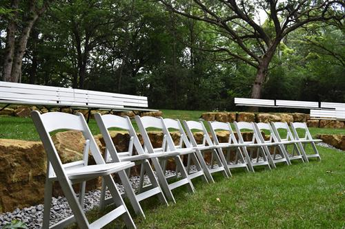 Hidden Wooded Ceremony Area