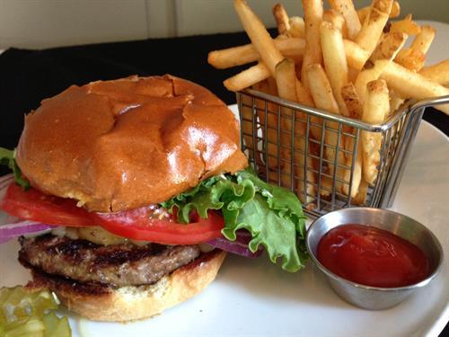CURRENT Burger at CURRENT restaurant