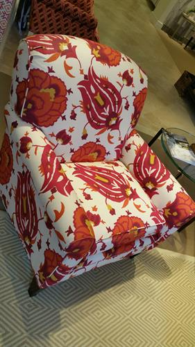 Custom reupholstery services