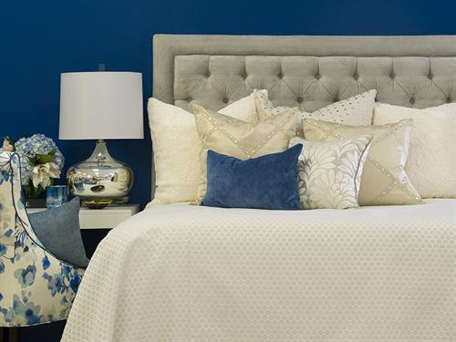 Custom headboards, pillows and bedding to suit your needs