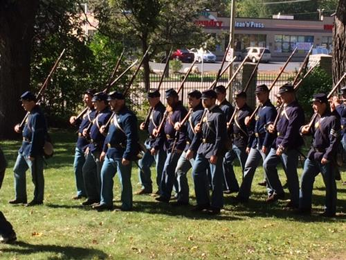 Civil War Weekend drills