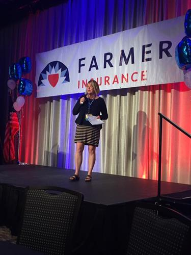 I was honored to be a speaker at the Farmers Agent's conference.