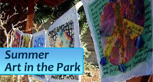 Do Summer Art in the Park This Year!