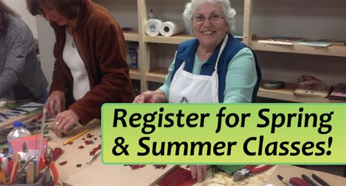 Register for Spring & Summer Classes!