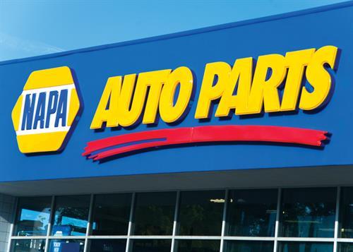 NAPA Auto Parts Store Signage