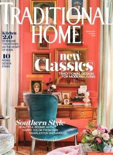 "Heidi Arwine Interiors is pleased to announce that our design has been featured in the national publication, Traditional Home.  The printed article, entitled ""French Connection"", is published in the September/October 2019 issue of Traditional Home magazine and is available now.  A digital highlight of the article, entitled ""A Kitchen with French Flair "" is also available online at traditionalhome.com."