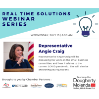 Real Time Solutions Webinar Series: Guest Speaker Representative Angie Craig