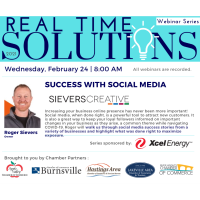 Real Time Solutions Webinar Series: Success With Social Media