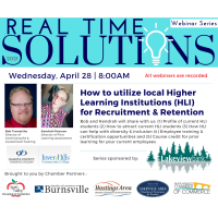 Real Time Solutions Networking Series: How To Utilize Higher Learning Institutions for Recruitment & Retention
