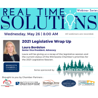 Real Time Solutions Networking Series: 2021 MN Legislative Wrap-Up