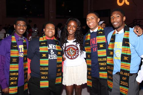 Off To College You Geaux: 2015 Scholars at their Launch To College Ceremony!