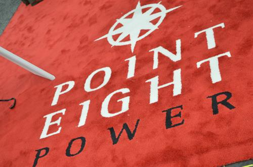 Point 8 Power custom carpet
