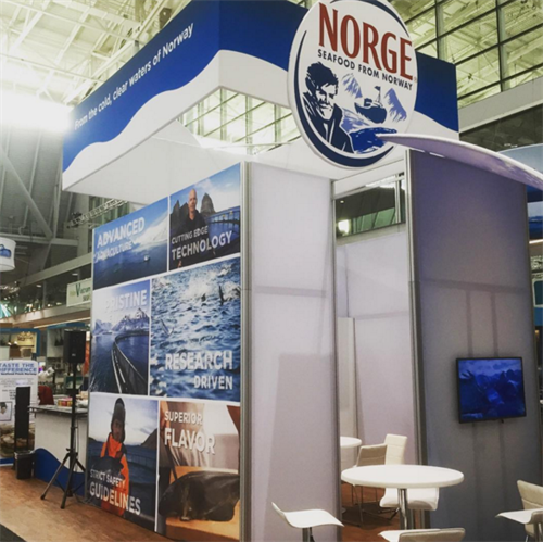 Norge Seafood exhibit