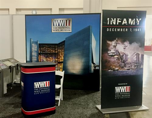 National World War II Museum traveling exhibit