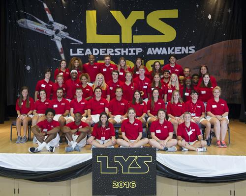 A staff of almost 40 young professionals lead LYS each summer