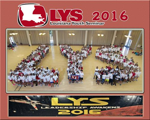 Over 300 Students Attend LYS - July 17-22, 2016 -LSU