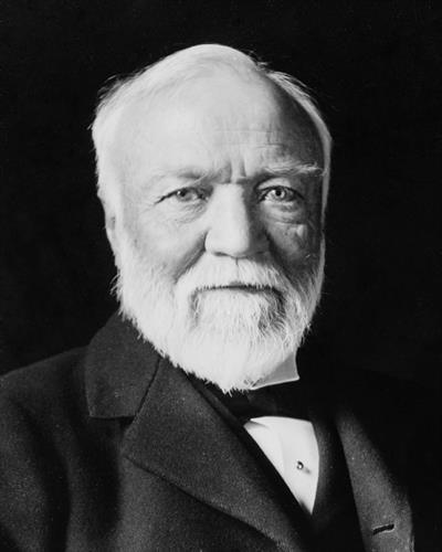Andrew Carnegie, Wealthiest man on the planet in 1908.