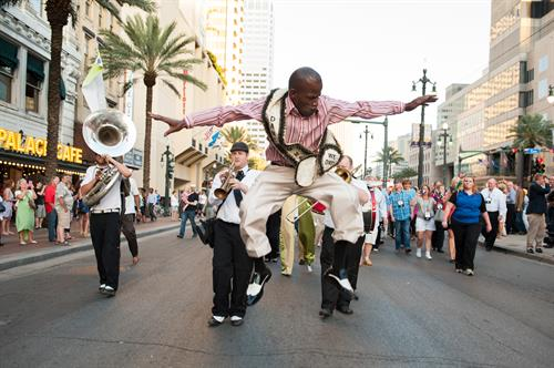 Second Line  ©Adrienne Battistella Photography